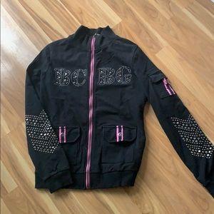 BCBG Zip-up sweatshirt- great condition